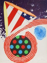 James ROSENQUIST (1933) - A Free for All
