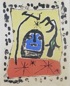 Joan MIRO (1893-1983) - Affiche pour l'exposition à la galerie Matarasso