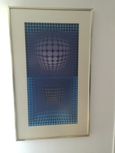 Victor VASARELY (1906-1997) - Serigraphie couleur
