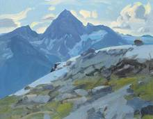 Peter Maxwell EWART (1918-2001) - Mt. Sir Donald from Mt. Abbott