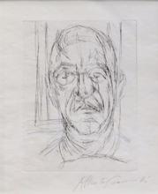 Alberto GIACOMETTI (1901-1966) - Portrait of Iliazd