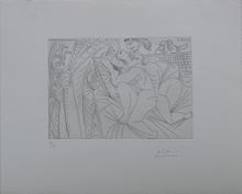 Pablo PICASSO (1881-1973) - Raphael og La Fornarina XXIV, Séries 347