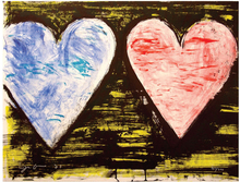 Jim DINE (1935) - Two Hearts at Sunset, edition 32/200