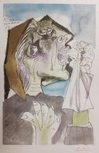 """Pablo PICASSO (1881-1973) - """"Weeping Wooman"""" """"Femmes en pleurs"""""""