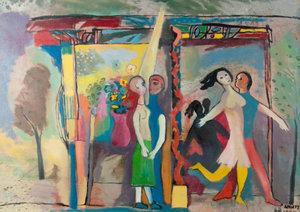 Fritz ADUATZ (1907-1994) - Liebe - Leidenschaft