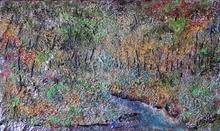 Francesco OTTOBRE (1956) - ruscello nel bosco