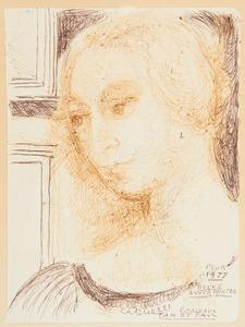 Paul DELVAUX (1897-1994) - Jeune femme