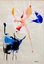 Emil James BISTTRAM (1895-1976) - Transcendental Abstraction, ie. circa 1930