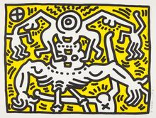 Keith HARING (1958-1990) - Untitled 1986
