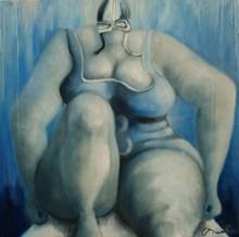 Corinne BRENNER (1967) - Swimmer n°8
