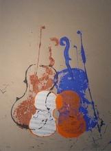 Fernandez ARMAN (1928-2005) - Violons