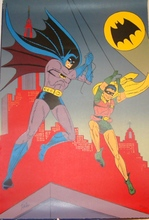 Bob KANE (1916-1998) - BATMAN and ROBIN