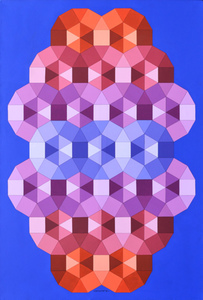 Victor VASARELY (1906-1997) - Tizenne 2