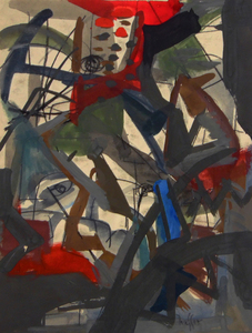 Josef PRESSER (1907-1967) - Abstraction