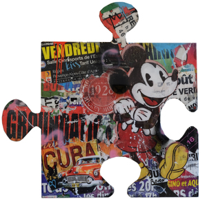 Robert SGARRA (1959) - Puzzle (Mickey Mouse)