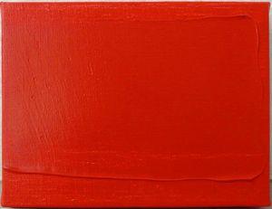Bernard AUBERTIN (1934) - Rouge horizontal