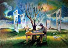 Gregor ZIOLKOWSKI (1950) - TWO WINDOWS