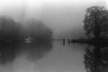 J.Michael WHITAKER (1947) - Morning Fog at Pleasure Cove