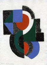 Sonia DELAUNAY-TERK (1885-1979) - Juste Présent planche 6