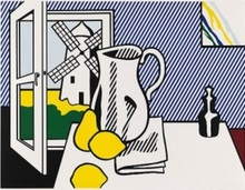 Roy LICHTENSTEIN (1923-1997) - Still Life with Windmill