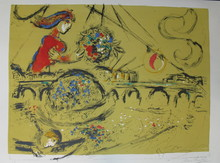 Marc CHAGALL (1887-1985) - *Ils Saint Louis
