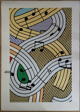 Roy LICHTENSTEIN (1923-1997) - Roy LIchtenstein: Composition III