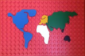 Matteo NEGRI (1982) - L'Ego Map (fondo rosso)