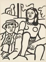 Fernand LÉGER (1881-1955) - Les deux amoureux