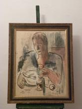 Jean VILLERI (1896-1982) -  le repas