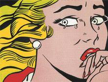 Roy LICHTENSTEIN (1923-1997) - Crying Girl