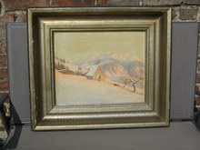 Charly PEKLO (1880-1959) - Blick vom Seilenberg (Geilenberg), Allgäu