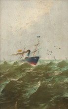 Enrique FLORIDO BERNILS (1873-1929) - MARINA