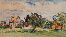 Marcel ARNAUD (1877-1956) - Paysage aixois