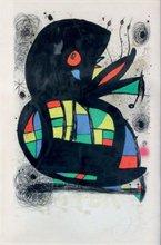 """Joan MIRO (1893-1983) - Affiche pour l'exposition """"Miro"""" Fondation Maeght"""