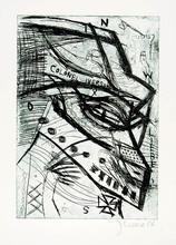 Jonathan MEESE (1971) - Colonel Iverson +5 weitere Radierungen