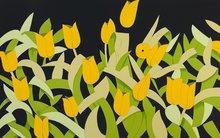Alex KATZ (1927) - Yellow Tulips