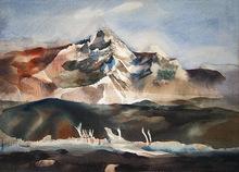 """Dong Moy Chu KINGMAN (1911-2000) - """"South Mountain"""""""