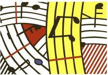 Roy LICHTENSTEIN (1923-1997) - Composition IV