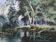 Paul Émile PISSARRO (1884-1972) - Les les et le pont du Vey