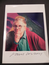David HOCKNEY (1937) - AUTOGRAFO