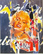 Mimmo ROTELLA (1918-2006) - Omaggio a Marilyn
