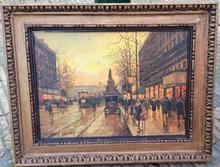 Édouard CORTES (1882-1969) - Place de la Republique