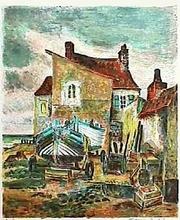 Maurice BOITEL (1919-2007) - Maison de pêcheur