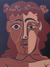 Pablo PICASSO (1881-1973) - Boy with a Crown of Leaves