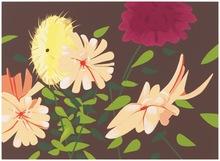 Alex KATZ (1927) - Late Summer Flowers