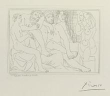 Pablo PICASSO (1881-1973) - Sculpteurs, modeles et sculpture. Suite Vollard.
