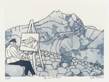 Julian TREVELYAN (1910-1988) - Aix-en-Provence