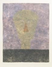 Rufino TAMAYO (1899-1991) - Cabeza Sobre Fondo Rosa (Head on Pink Background)