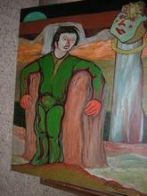 "Francisco MATEOS GONZALEZ (1894-1976) - ""el sacrificio"""