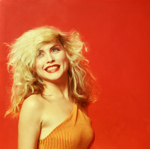 Mick ROCK (1949) - Debbie Harry, Orange Smile